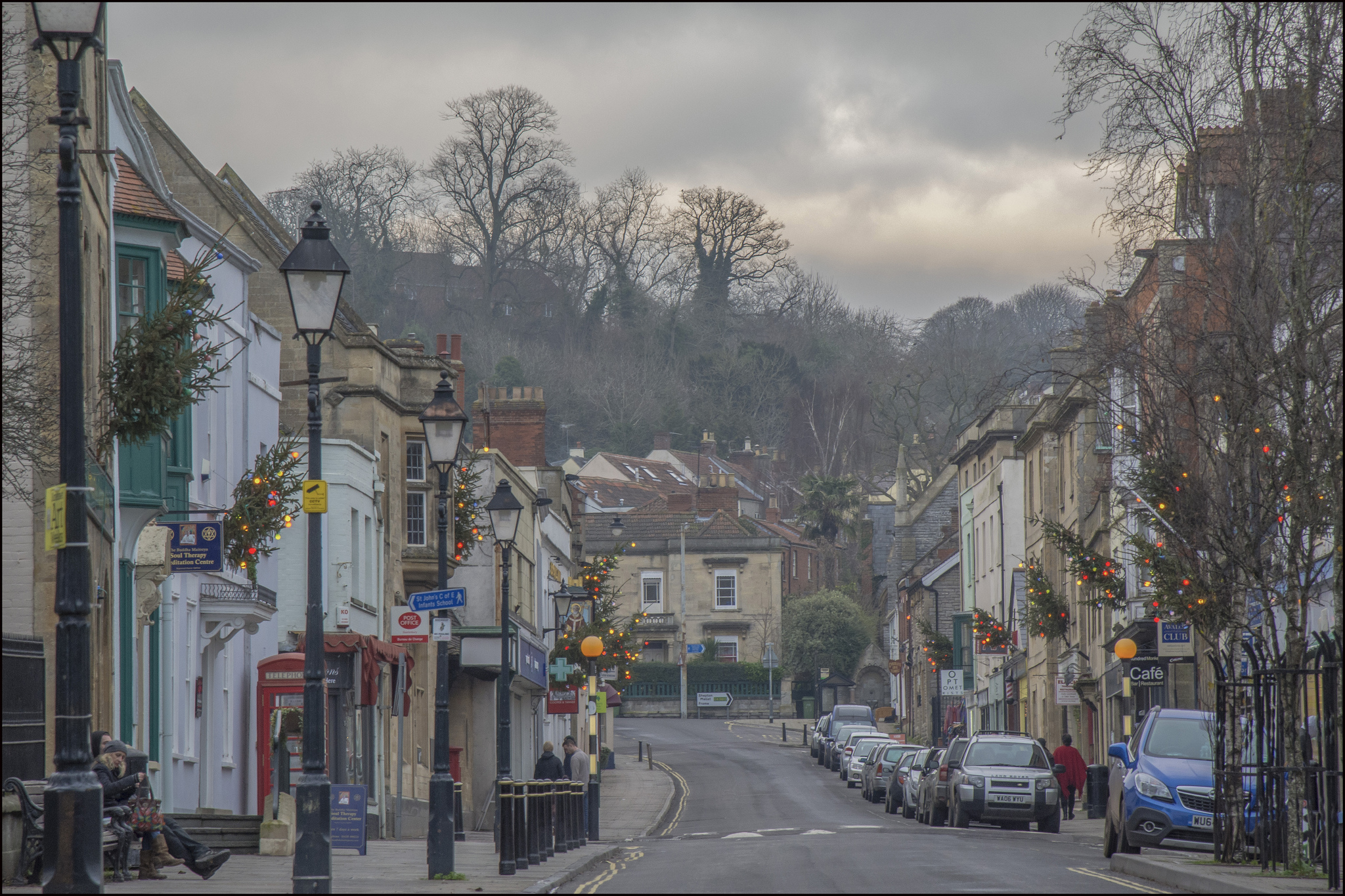 Photo of Glastonbury High Street